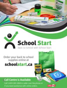 School Start School Supplies